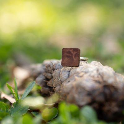 Dřevěný prsten Sekvoj